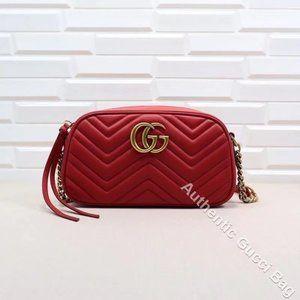 New 🔥G U C C I🔥 Marmont small matelasse shoulder bag